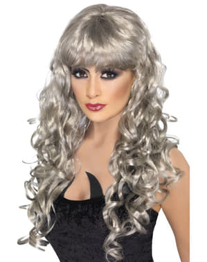 Silver Ghost Περούκα με Fringe