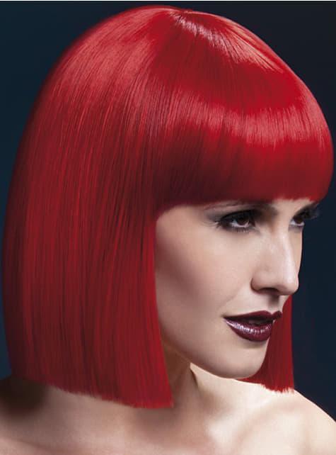 Peluca Lola roja