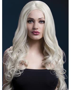 Blonde Rhianne wig