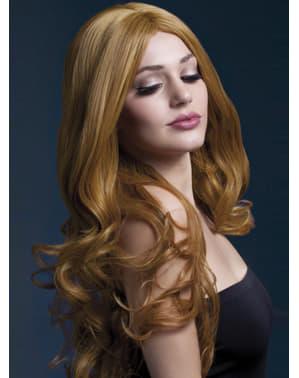 Parrucca Rhianne biondo rossiccio