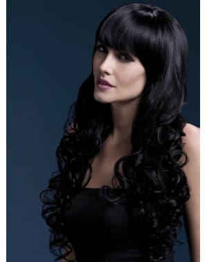 Черна перука Изабел