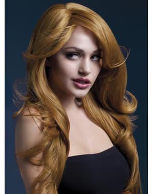 Peruka Nicole mahoniowa