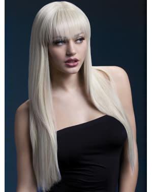 Pruik blond Jessica