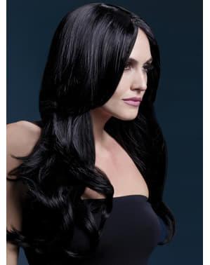 Black Khloe wig