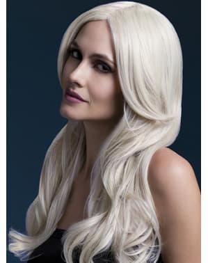 Pruik blond Khloe