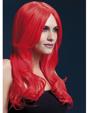 Red Khloe wig