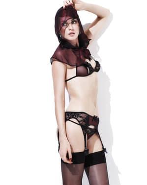 Conjunto lingerie Misstress Red