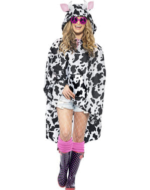 Party Poncho Vache