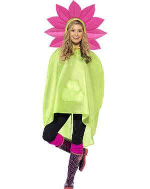 Festlig poncho Blomma