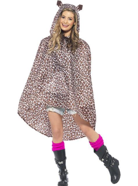 Party Poncho Leopardo