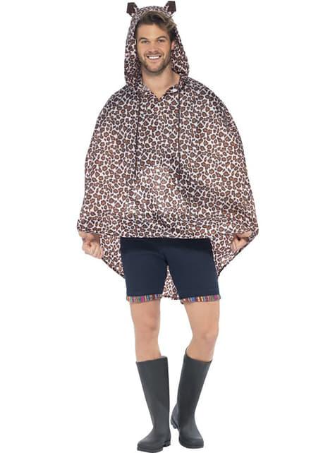 Party Poncho Leopardo - para tu disfraz