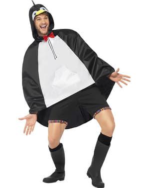 Feest poncho pinguïn