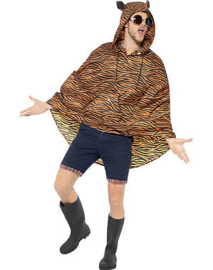 Party tiger poncho
