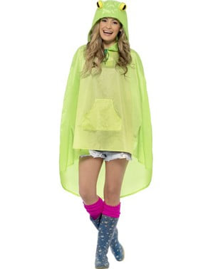 Party frog poncho