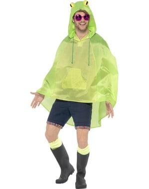 Frosch Party Poncho Regen Cape Regenmantel