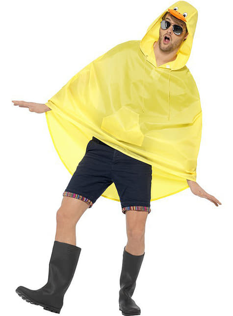 Party Poncho Pato - para tu disfraz