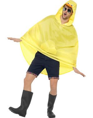 Ente Party Poncho Regen Cape Regenmantel