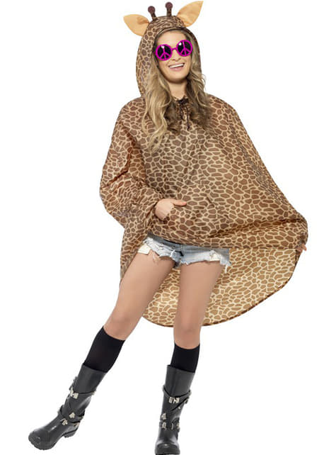 Party poncho Girafe
