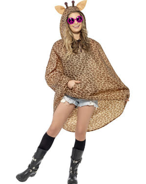 Party Poncho Giraffa
