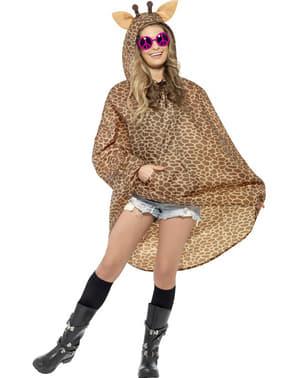 Party Poncho Giraffa