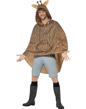 Party poncho Girafe