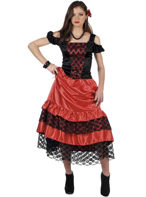 Kostium tancerka flamenco