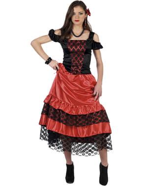 Flamencodansare dräkt