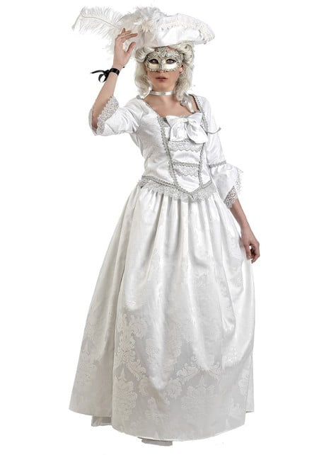 Disfraz de veneciana baile de máscaras
