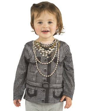 Bluzka staruszka milionerka dla dziewczynki