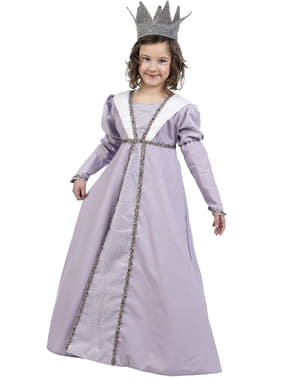Dívčí kostým středověká princezna