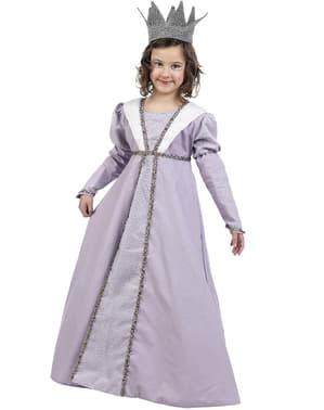 Средновековна костюм за принцеса за момиче