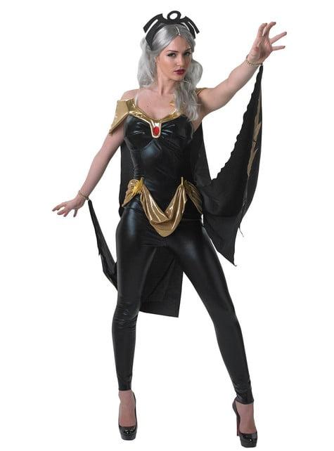 Storm Marvel kostyme for dame