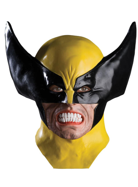 Wolverine X Men mask for an adult