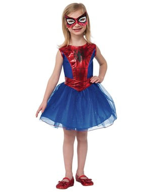 Dívčí kostým Spidergirl