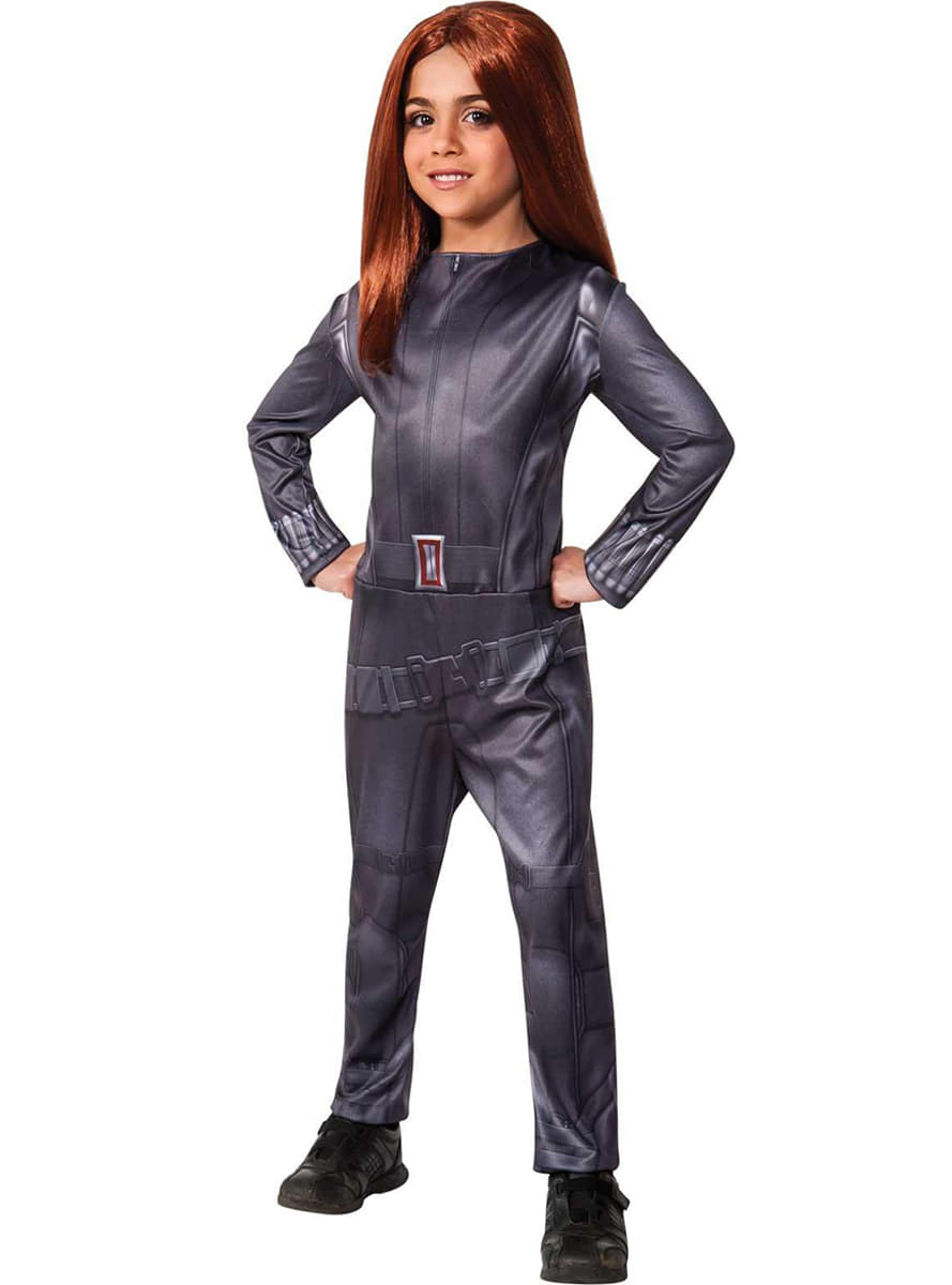 Costume veuve noire captain america le soldat d 39 hiver pour fille funidelia - Captain america fille ...