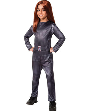 Black Widow Captain America The Winter Soldier Kostyme for Jente