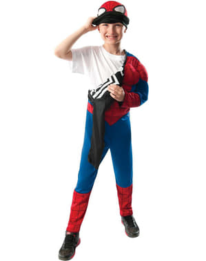Déguisement Ultimate Spiderman reversible pour garçon