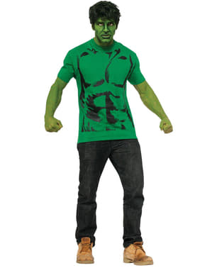 Hulk costume kit for a man