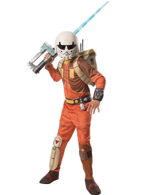 Disfraz de Ezra Star Wars Rebels deluxe para niño