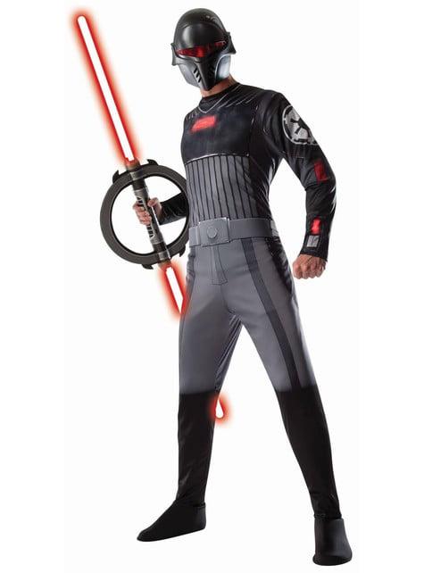 Disfraz de Inquisidor Star Wars Rebels para hombre