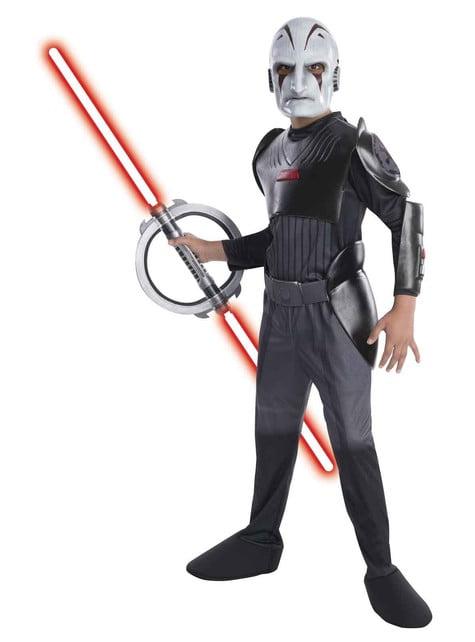 Disfraz de Inquisidor Star Wars Rebels para niño