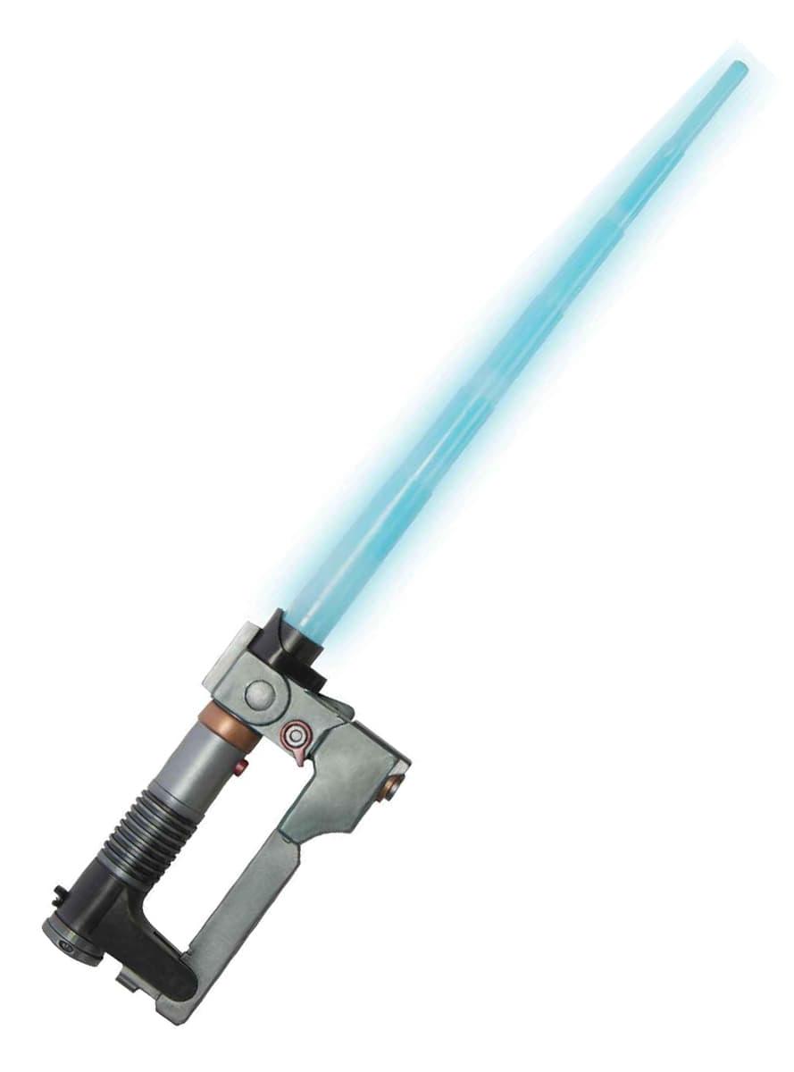 sabre laser ezra star wars rebels pour d guisement funidelia. Black Bedroom Furniture Sets. Home Design Ideas