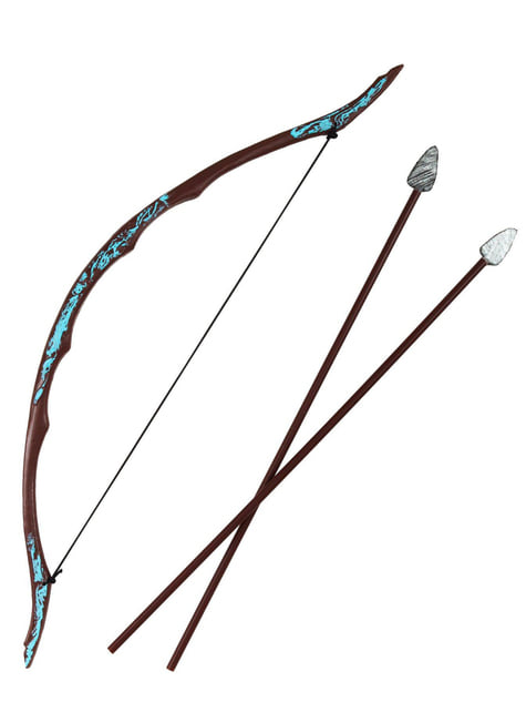 Set of epic bow and arrows