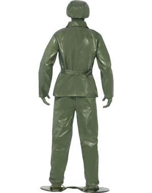 Disfraz de soldadito de juguete para hombre