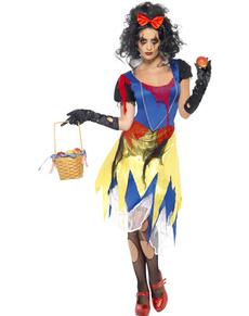 Zombie Snøhvit kostyme for dame