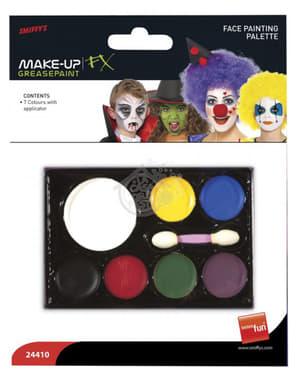 Makeupp sett til ansikt