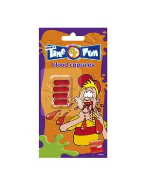 Capsules of Fake Blood