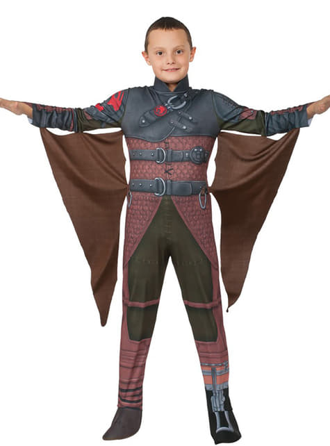 Hiccup Hoe tem je een draak 2 Kostuum voor kinderen
