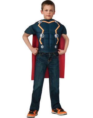 Muskuløst Thor kostume kit til drenge