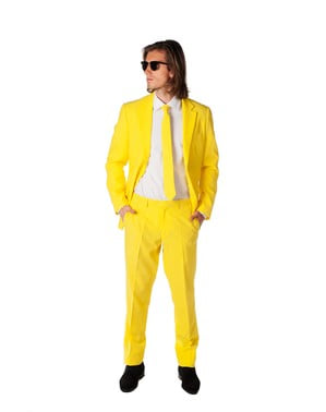 Yellow Fellow OppoSuit Dress